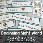Sight Word Sentences: Literacy Center