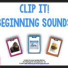 Beginning Sound Clip:  Common Core Aligned