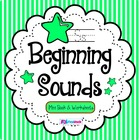 Beginning Sounds Mini Book & Worksheets