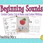 Beginning Sounds Printables & Cards