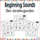 Beginning Sounds for Kindergarten