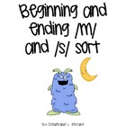 Beginning and Ending m and s Sort