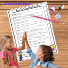 Beginning of the School Year Partner Skit {Back to School}