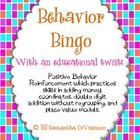 Behavior Bingo ... With an Educational Twist