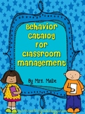 Behavior Catalog & Reward Coupons for Rewarding Awesome Behavior