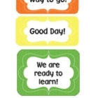 Behavior Clip Chart Rainbow~ Editable