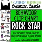 Behavior Clip Chart {Rock Star Theme Collection}