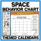 Behavior Clip Chart {Space Theme Collection}