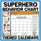 Behavior Clip Chart {Superhero Theme Collection}