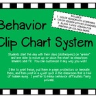 Behavior Clip Chart Using TEA Ratings
