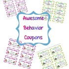 Behavior Coupons for the Classroom