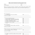 Behavior Intervention Documentation