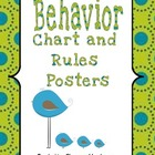 Behavior Management Classroom Rules and Expectations by Sh