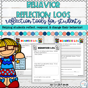 Behavior Reflection Logs