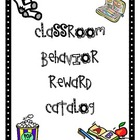 Behavior Reward Catalog