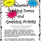 Behavior Management Tracking Forms and Graphing Activity