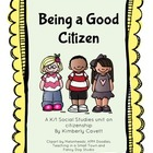 Being a Good Citizen: A K/1 Social Studies Unit