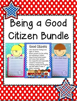Being a Good Citizen in My Community