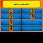 Best Family Feud Review Game 6 Answer PowerPoint Template