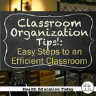 My Favorite Classroom Organization Tips!: Easy Steps to an
