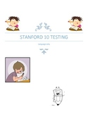 Best test prep for Stanford 10-Language only