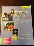 Between Worlds: Access to Second Language Acquisition -- U