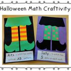 Bewitching Halloween Math Craftivity