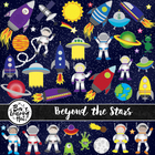 Beyond the Stars Clipart Set