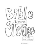 Bible Stories Activity Booklet Christian / Catholic