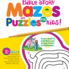 Bible Story Mazes for Kids Christian Puzzle Book & Digital