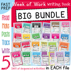 Kindergarten Writing Books Big Bundle - Sentences, Sight W