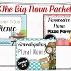 Big Noun Packet with Possessive Nouns, Proper Nouns, and P