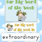 Big Word of the Week - Reading Strategy Approach - 15 pages