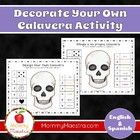 Bilingual Calavera Activity for Day of the Dead, Dia de lo