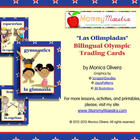 Bilingual Olympic Trading Cards