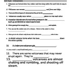 Bill Nye Volcanoes Video Fill In Guide Sheet
