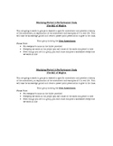 Bill of Rights Group Project: Research and create a powerpoint