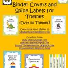 Binder Covers and Spine Labels for Themes