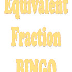 Bingo for Equivalent Fractions