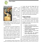 Biography: Saint Thomas Aquinas
