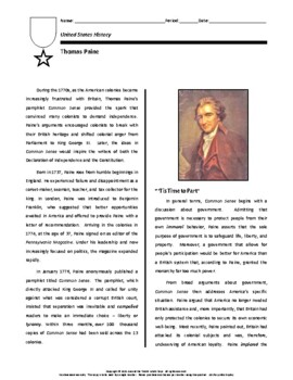 Biography: Thomas Paine