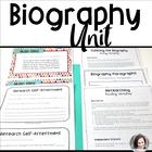 Biography Unit - Reading and Writing Workshop - Grades 3-5