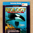 Biology: The Dynamics of Life Reviewing Biology Workbook