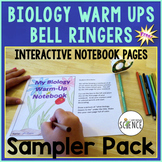Biology Warm Ups / Bell Ringers / Interactive Notebooks Fr