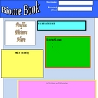 Biome Book Project