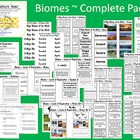 Biomes of the World ~ Complete Packet {22 pages}