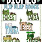 Biomes of the World Flip Flap Books - Expository Writing R