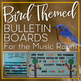 Bird Themed Bulletin Boards for the Music Room: Printables