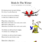 Birds in the Winter: Song