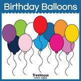 Birthday Balloons Clip Art/Graphics